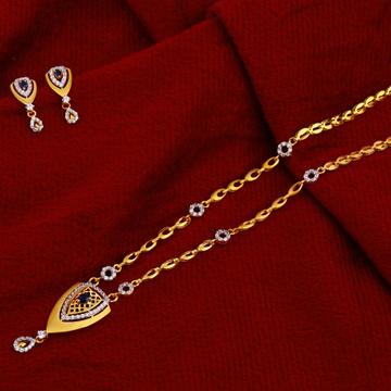 916 Gold Hallmark Designer  Chain Necklace CN95