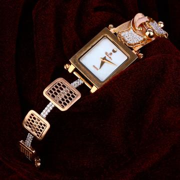18kt Rose Gold Stylish Watch RLW163