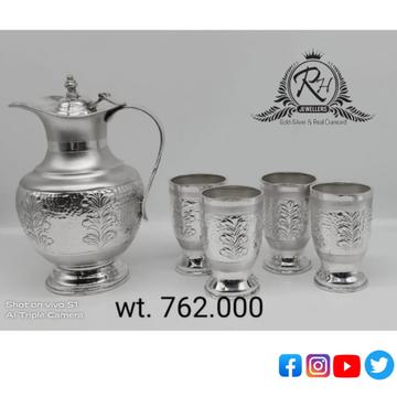 silver glass & jag fancy set RH-GF672