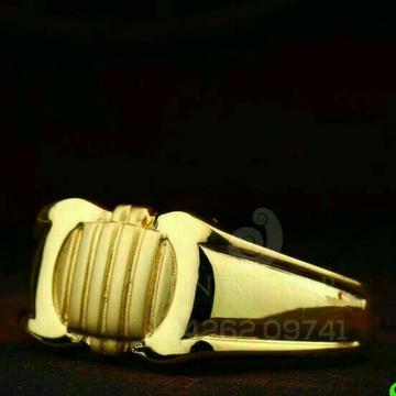 Gold Designer Gents Ring 916