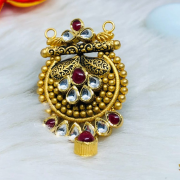 916 Gold Jadtar Mangalsutra Pendants msp-0018