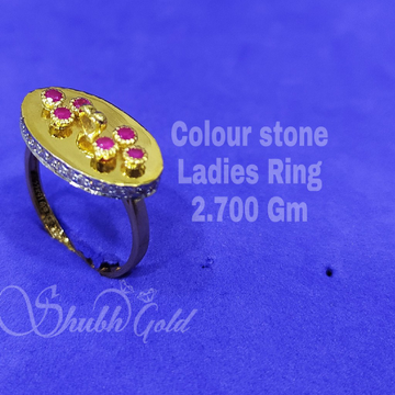 Colour stone Ladies Ring