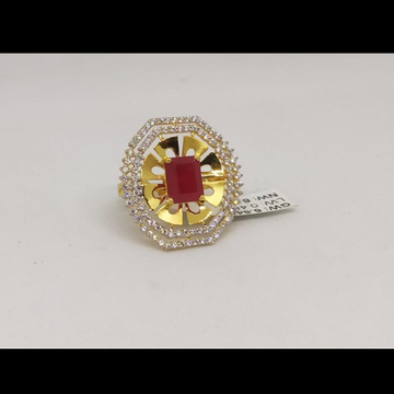 22KT/916 Yellow Gold Evia Ring For Women