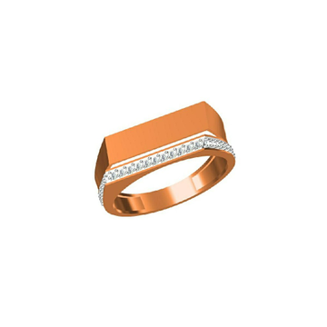 Men's Exclusive Fancy Rose Gold Designer Ring-31309