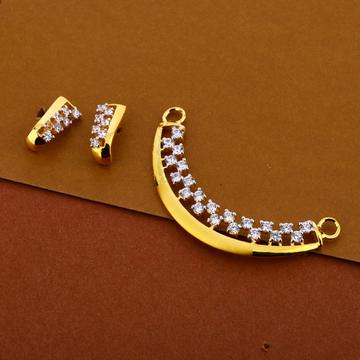 22kt Cz Gorgeous  Hallmark Pendant Set MP280