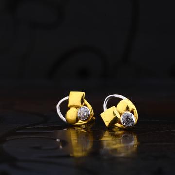 916 Gold fancy Earrings LSE162