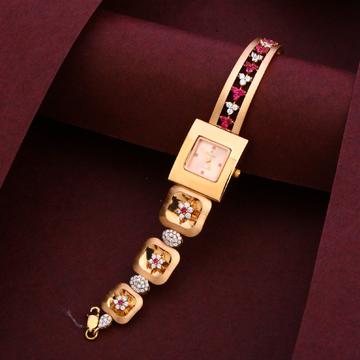 18CT Rose Gold Designer Hallmark Ladies Watch RLW227