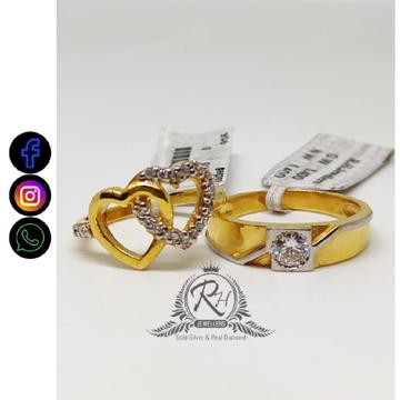 22 carat gold couple love classical rings RH-CR462