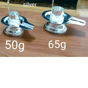 Silver Shivling Ms-1489 by