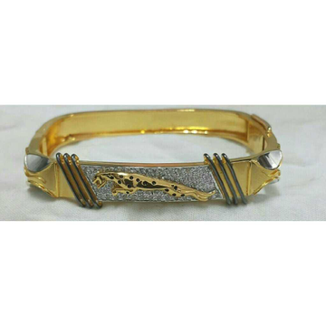 22k Gents Fancy Gold Jaguar Kada G-3714
