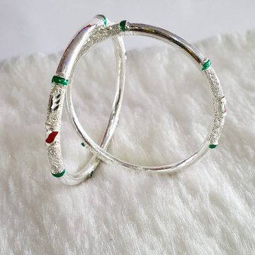 New Fancy Morpanch Silver Bangle by