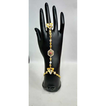 22k Ladies Gold Fancy Hathpan H-58544