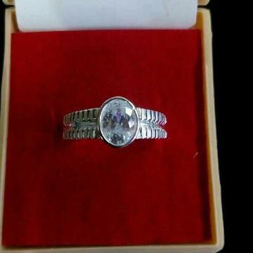 925 Silver Designer Rashi Ring