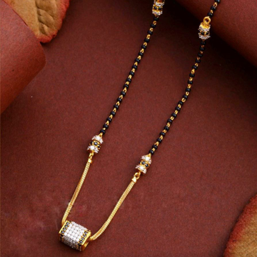 22KT/ 916 Gold Handmade square pendant mangalsutra... by