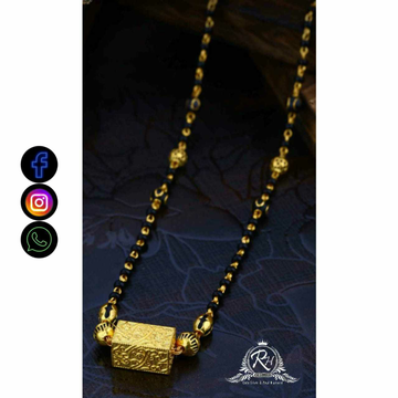 22 Carat Gold Antique Mangalsutra RH-LM725
