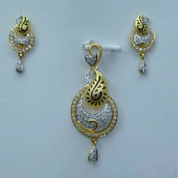 Exclusive pendant set by Shree Sumangal Jewellers