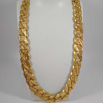 22K Gold Hand Made Chain NJ-C042