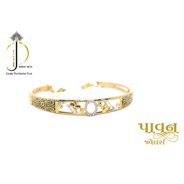 22KT / 916 Gold Fancy casual Bangles For Ladies KK... by