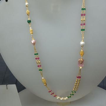 916 gorgious fancy mala by Celebrity Jewels