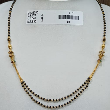 22KT/916 DAILYWARE MANGALSUTRA GMS-010