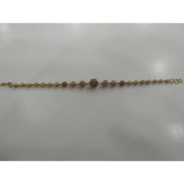 22 KT Gold Stylish  Loose Bracelet