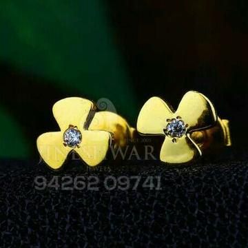 18kt Plain Gold Ladies Tops ATG -510