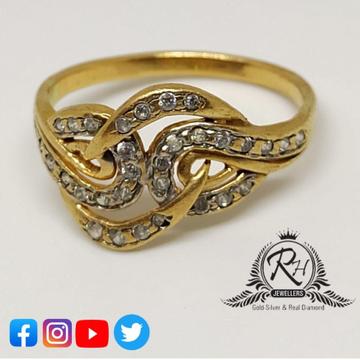 22 carat gold fancy daimond ladies rings RH-LR397
