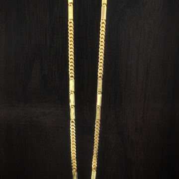 Fancy handmade 916 gold chains by Suvidhi Ornaments