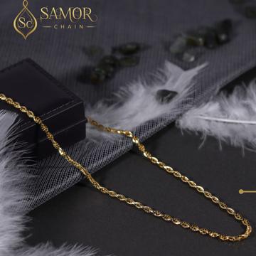 916 hallmark gold morden chain by Samor Jewellers
