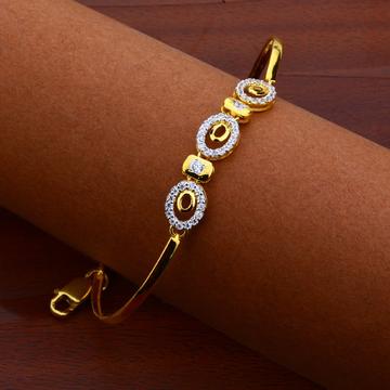 916 Gold Cz Fancy Bracelet LKB109