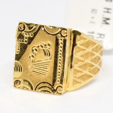 ring 916 hallmark gold-6742 by