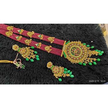 Pachi kaundan long necklace set#1021