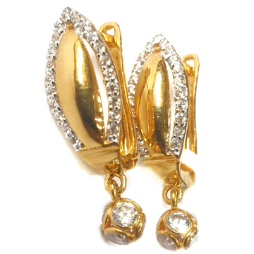 18k gold earrings mga - gb0018