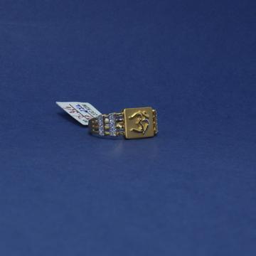 22KT Hallmarked Om Ring For Men by Simandhar Jewellers