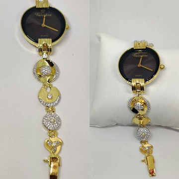 18k Ladies Fancy Gold Indian Watch G-2233