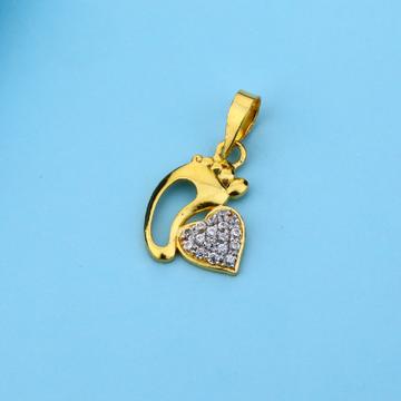 916 Gold Classic Hallmark Pendant LFP20