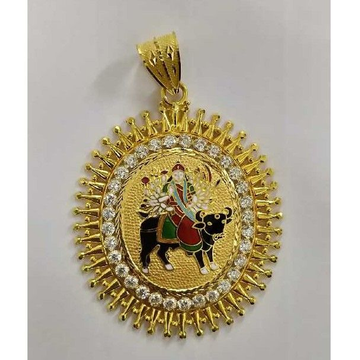 Gents heavy Weight gold pendant