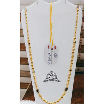 22 carat gold dokiya styli single line mangalsutra RH-MN931