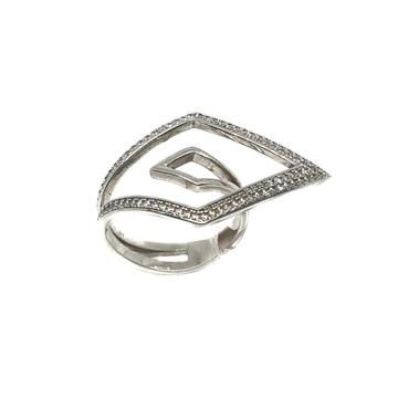 925 Sterling Silver Designer Ring MGA - LRS0096