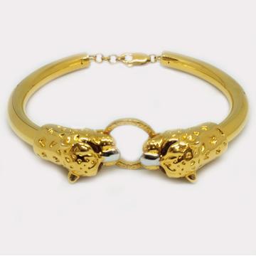 916 Gold Lion Shape Gents Bracelet