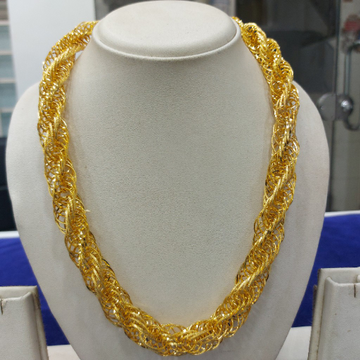 916 Gold Fancy chain RJ-C001