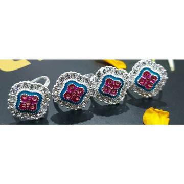 Square Casting Bichiya - Toe Ring  Ms-4021 by