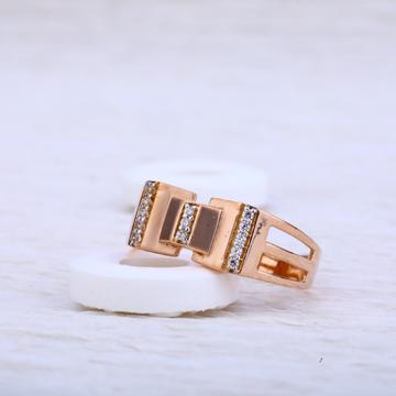 750 Rose Gold Hallmark Ring RMR33