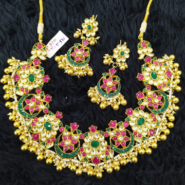 beautiful bridal necklace#767