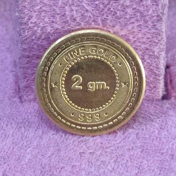 24kt 2 gram gold coin