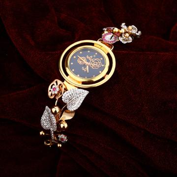 Rose Gold 18K Ladies Watch-RLW12
