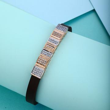 18KT Rose Hallmark Simple Design Gold Bracelet