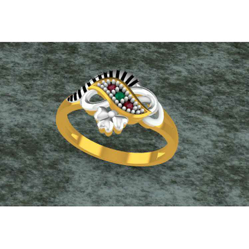 American Dimond Finish Toe Ring Bichiya(Vichiya) Ferva Ms-2493