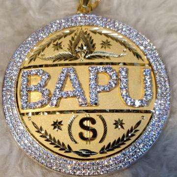 New Pendant by Narayan Jewellers
