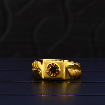 22kt Gold Designer Hallmark Ring MPR75